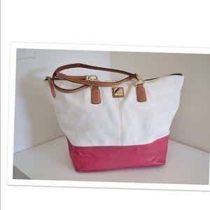 Dooney & Bourke O ring shopper tote bag